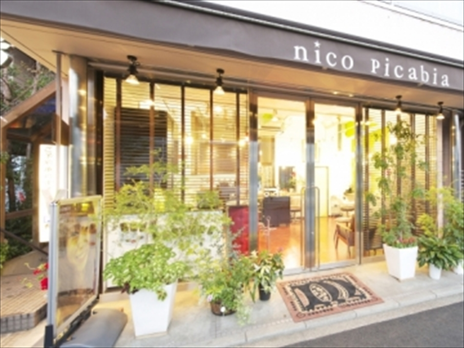 nico picabiaニコピカビア 成城学園 ST